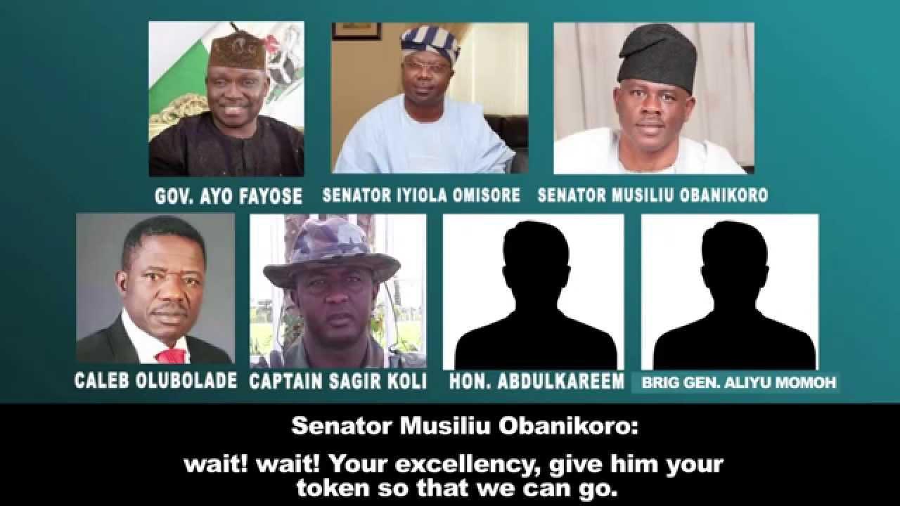 How Obanikoro, Chris Uba, Omisore, Olubolade, Nigerian Army General Rigged Fayose Into Power