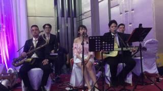 วงดนตรีงานแต่ง Caramel Tie - Lucky ( Cover )