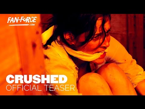 Crushed trailer