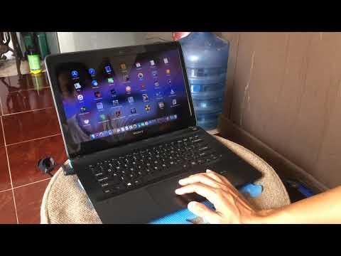 Hackintosh Sony Vaio SVF14218 - Mac OS Mojave 10.14.4