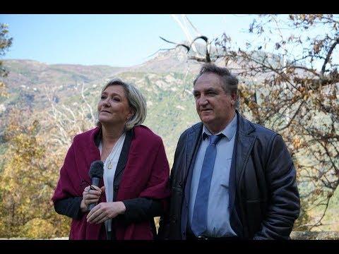 Marine Le Pen se rend en Corse pour soutenir la liste emmenée par Charles Giacomi