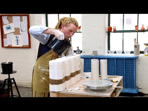 The potters make chandeliers - The Great Pottery Throw Down: Episode 5 Preview - BBC Two