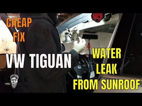 Volkswagen Tiguan Water Leak From Sunroof