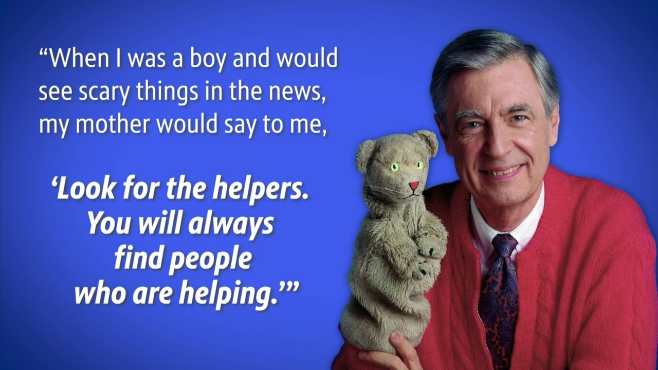 Meet The Helpers Mister Rogers Quote Helpers Youtube