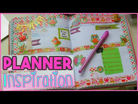 DECORATE YOUR PLANNER FROM THE DOLLAR TREE | PLAN WITH ME | Sensational Finds