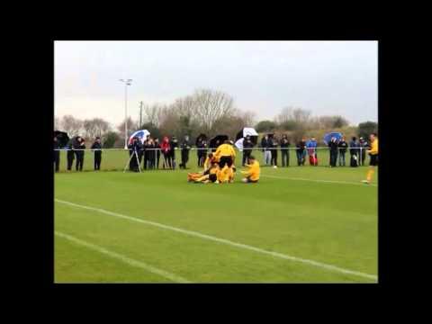 Portmarnock AFC v Crumlin United - FAI Intermediate Cup Semi Final