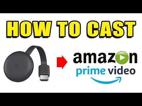 How To CAST Amazon Prime Video To Chromecast TV