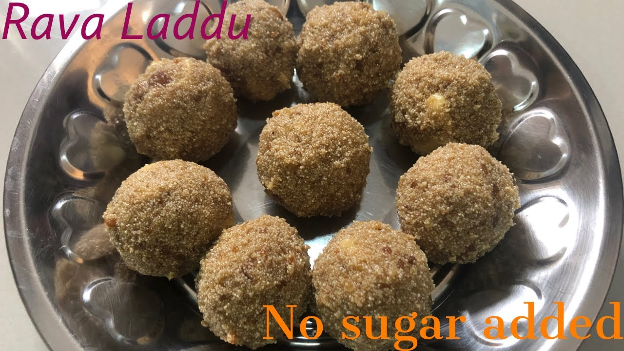 Rava laddu without sugar | ரவா லட்டு in tamil with English subtitle | cook easy eat healthy