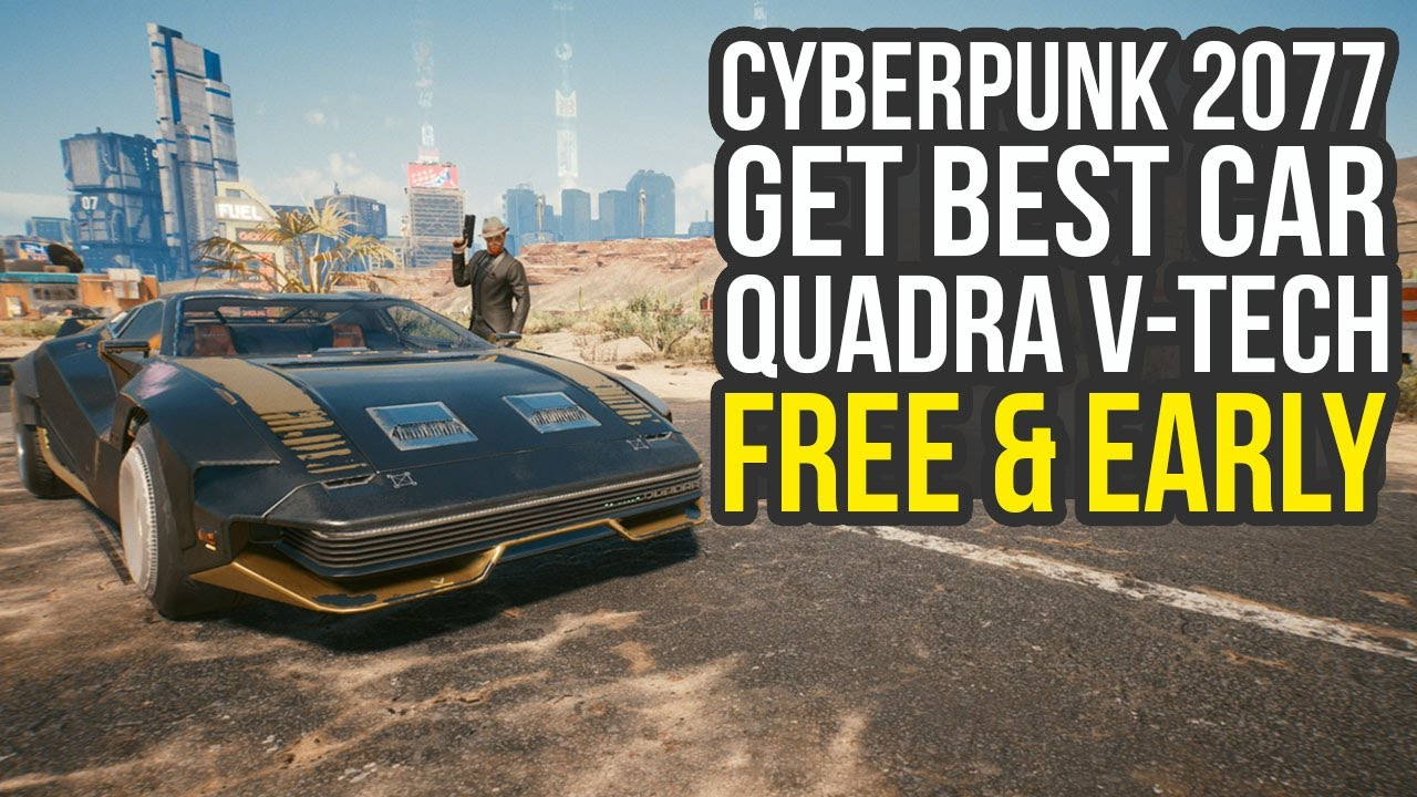 HEY FREE CAR!! - #Cyberpunk2077