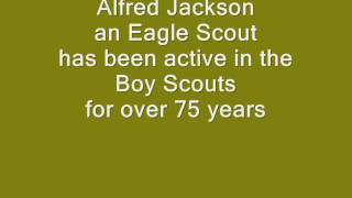 Alfred Jackson saying the Boy Scout Law