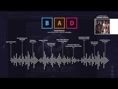 Bad Design Podcast Episode 2 With Jordan Herald From Miami of Ohio University