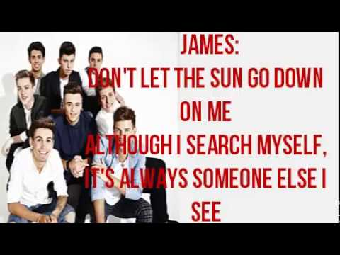 Stereo Kicks - Don't Let The Sun Go Down On Me WEEK 7 lyrics