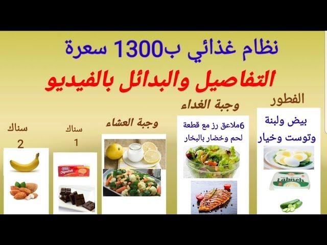 نظام غذائي للأوزان بين 65 و80 كيلو ينزل من ثمانية لعشرة كيلو بالشهر اذا تم الالتزام به Youtube