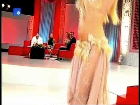 SARAH FISCHER  -TV SHOW TAL EH SAHAR- FUTURE TV-LEBANON