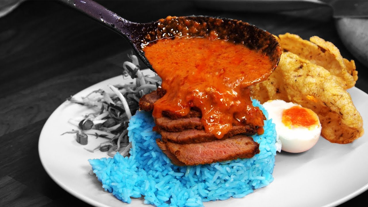 Download Nasi Kerabu Kaw Meleleh Punya