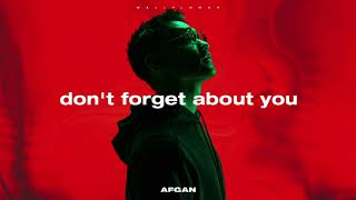 Afgan Don T Forget About You Visualizer MP3