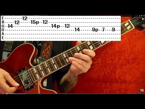 Jailhouse Rock by ELVIS PRESLEY - Guitar Lesson ♫ ♪ ♫ ♪