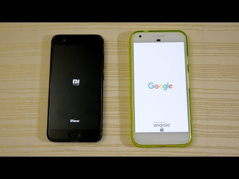 Xiaomi Mi6 vs Pixel XL - Speed Test! (4K)