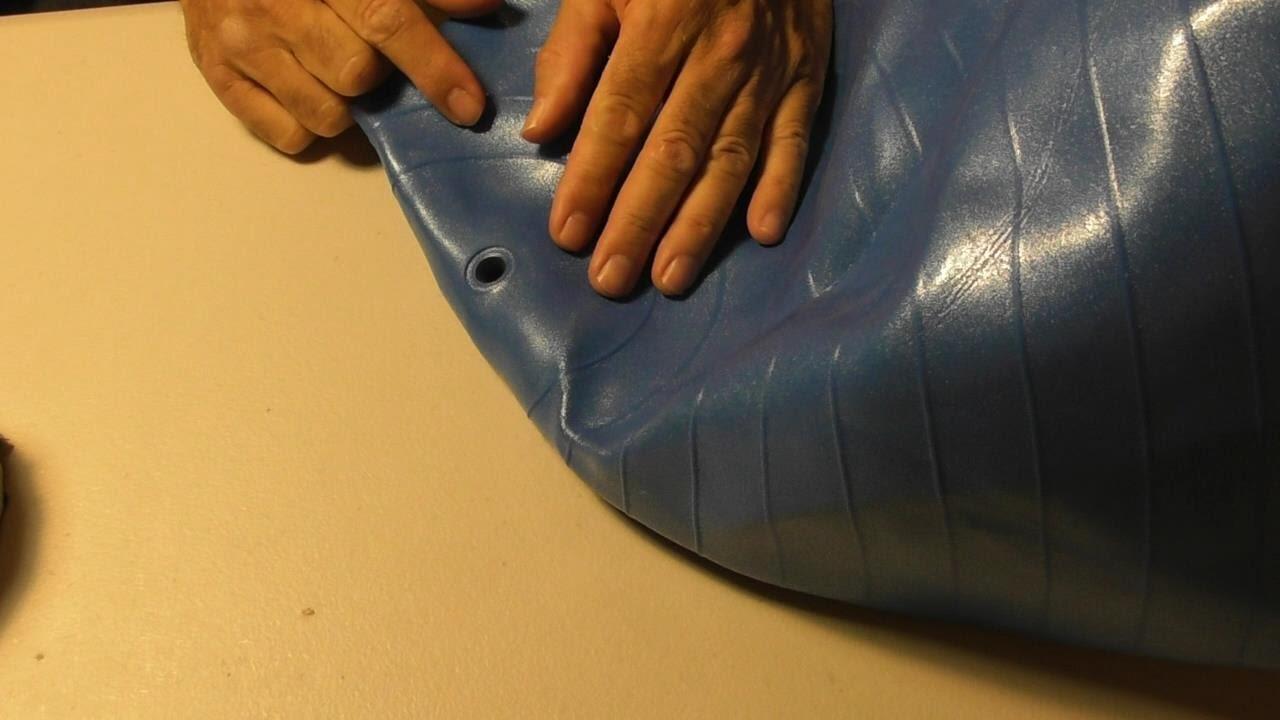 Gym Ball Plug Adapter Training Croissants Pilates Stabilität Praktisch