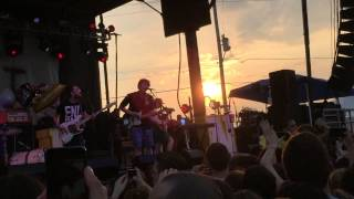 the front bottoms west virginia live skate and surf 2015