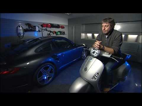 Jason Plato in his Dura garage