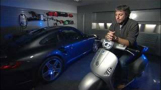 Jason Plato in his Dura garage