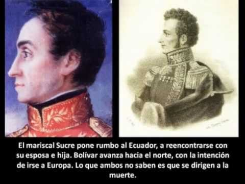 Antonio Jose De Sucre Youtube