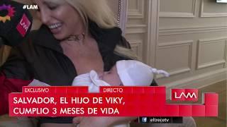 Vicky Xipolitakis mostró su casa y a Salvador Uriel tras cumplir 3 meses de vida