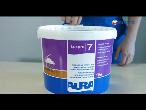 Акрилатная краска для высококачественной отделки потолков и стен