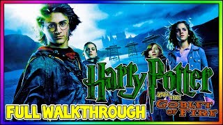 Harry Potter and the Goblet of Fire - FULL 100% Walkthrough