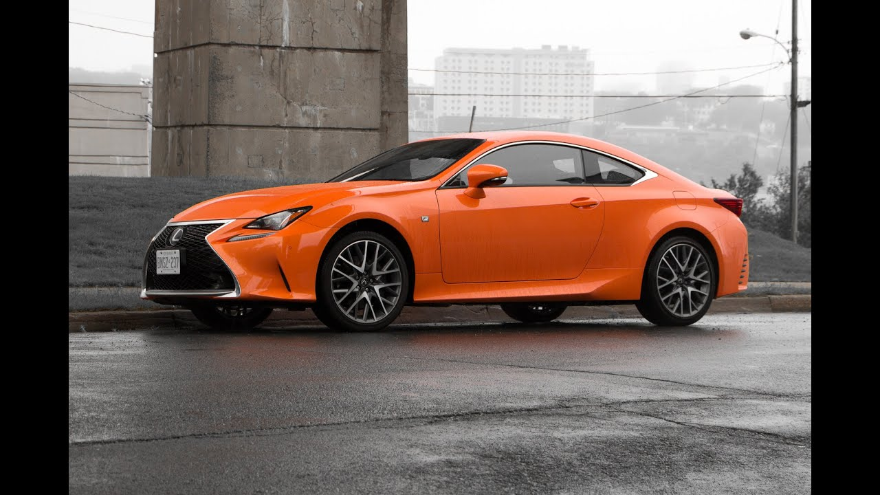 2016 lexus rc350 awd f sport review youtube. Black Bedroom Furniture Sets. Home Design Ideas