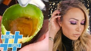 Avocado Lattes, Purple Eyeshadow & Dress With Sneakers HOTTEST Fall TRENDS!  | Trending Topics