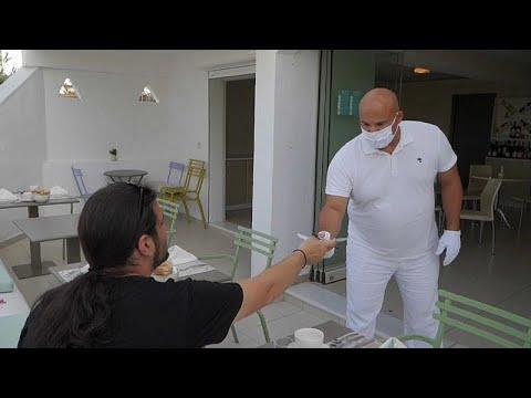 Греция: отели во время пандемии