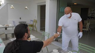 Греция отели во время пандемии
