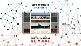 Diplo Ft. Mø - Get It Right (Aldy Waani Instrumental Remake)