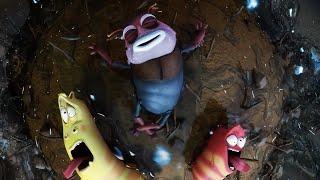ЛАРВА - разбрызгивание | Мультфильм фильм | Мультфильмы для детей | WildBrain