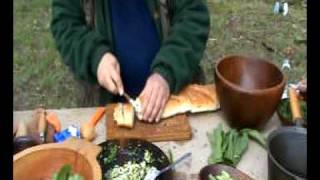 Steve Kirk makes wild garlic bread Thumbnail