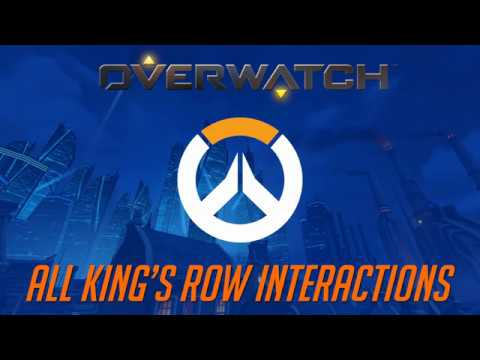 Overwatch - All King's Row Interactions