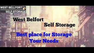 West Bellfort Self Storage Units Facilities