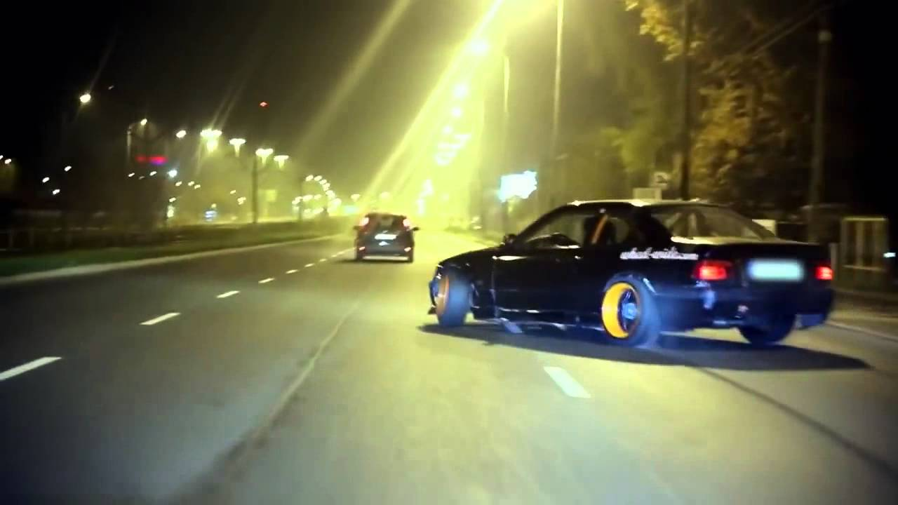 Awesome Illegal Street Drifting To The Max Youtube