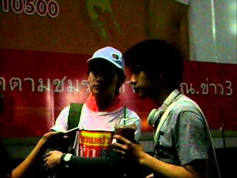Tao Kacha 301011 ลงพื้นที่ช่วยน้ำท่วม @ ช่อง 3 สัมภาษณ์ทรูเอเอฟ 8
