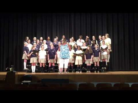 Fontbonne Academy Select Chorus rehearsal