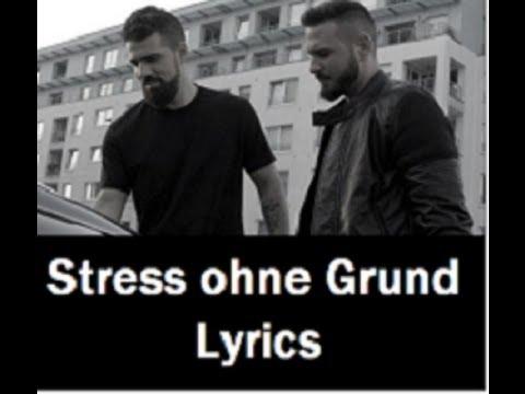 Bushido feat. Shindy - Stress ohne Grund (LyricsOnScreen+instrumental)