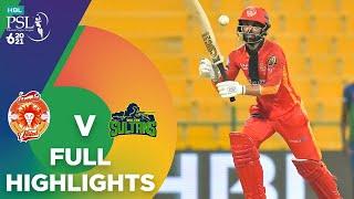 Full Highlights | Multan Sultans vs Islamabad United | Match 30 | HBL PSL 6 | MG2T
