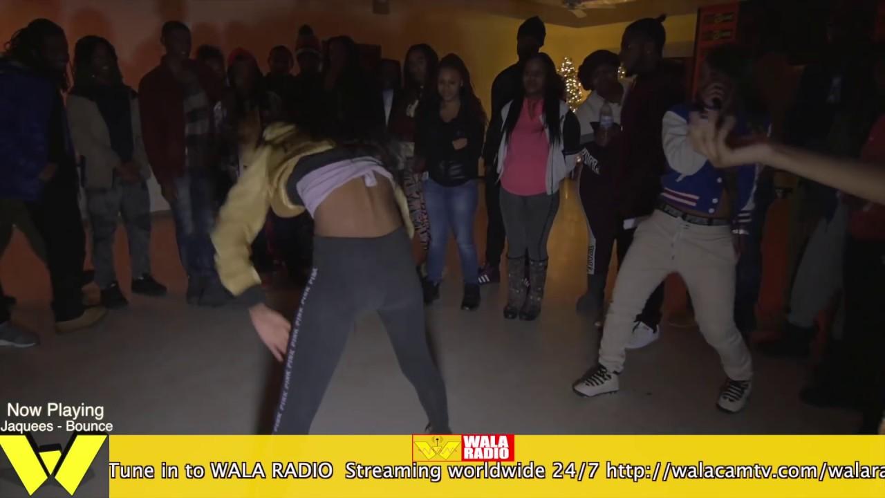 MERCEDES VS QUEEN J Money pt 2 @ DA WARZONE!!! CB MAKE'S HER MOVE!!!
