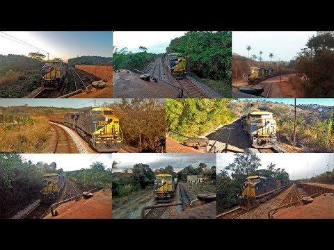 Cruzamentos Ferroviários no ramal do Paraopeba - MRS Logística