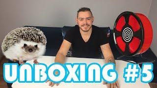 AKCESORIA JEŻ PIGMEJSKI DUŻA PACZKA | Unboxing #5