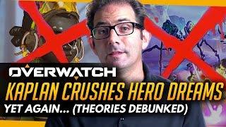 Overwatch | Kaplan Crushes Hero Dreams... Again (Efi & Anchora Theories PARTLY Debunked)