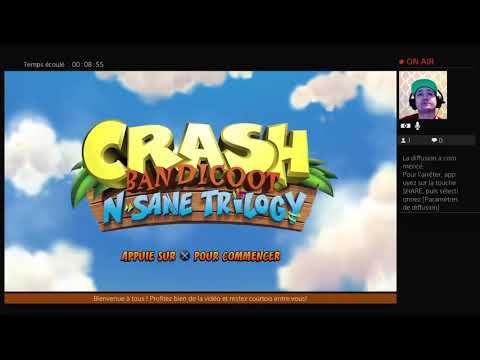 Crash Bandicoot N Sane Trilogy: Challenge personnel !