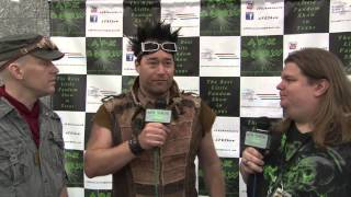 Abney Park Interview from Comicpalooza 2013